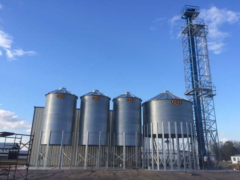 Uzzell Brothers Seed Processing Plant Progress
